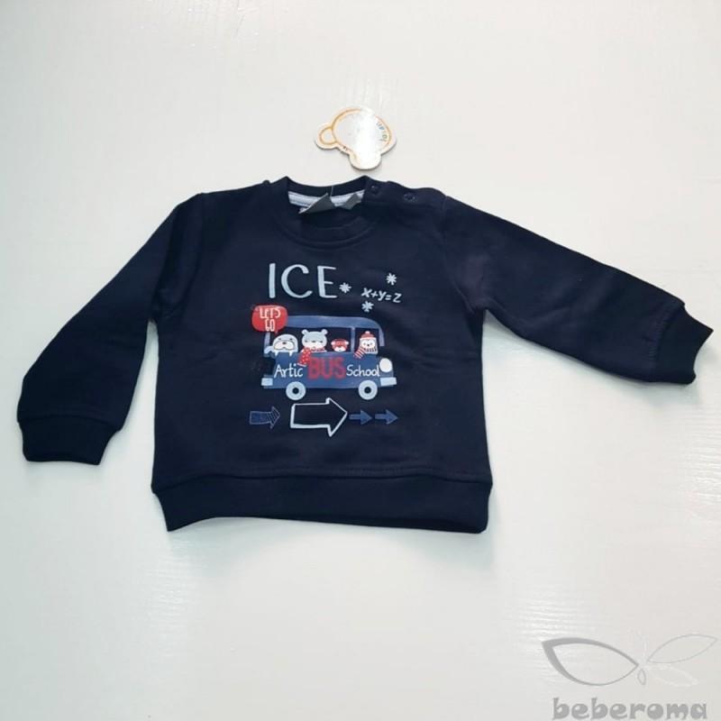 - Losan Artic School Bus Sweatshirt-727-6650 1