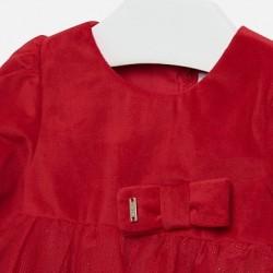 - Mayoral Kırmızı Kadife Elbise-2916 4