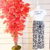 🌴YENİ🌴  🦓Uçuş Uçuş Zebra İncecik  Pamuklu Pantolon ve Pamuklu Göbeği Açık Tişört🦓  Beberoma Mağazasında Satışta  Yakında www.beberoma.com da